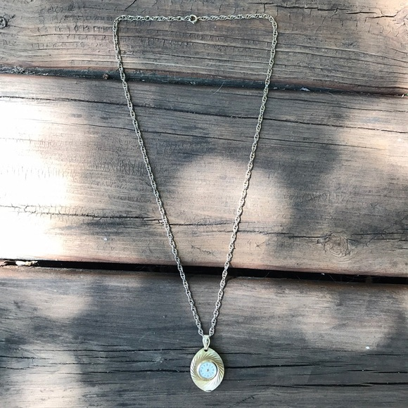 Jewelry - Watch on Necklace Chain